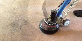 Carpet cleaning and impregnation