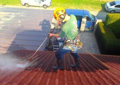 Čištění střech 06