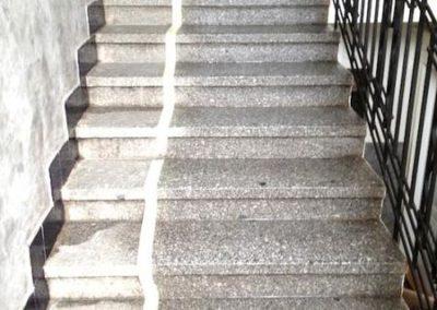 Impregnace kamenných schodů 01