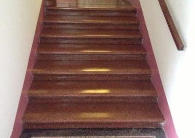 Impregnace kamenných schodů 07