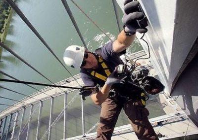 Údržba a nátěry ocelových konstrukcí a stožárů 02