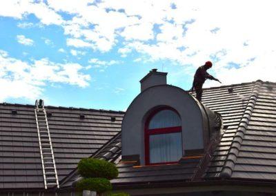 Výškové čištění střech 01