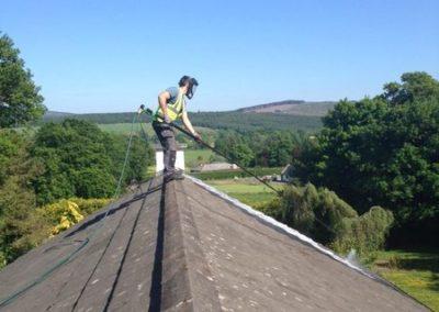 Výškové čištění střech 08