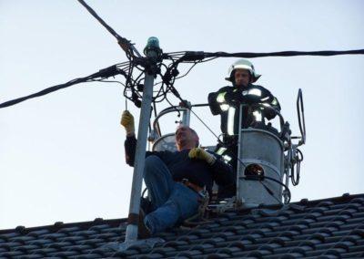 Výškové instalace hromosvodů 06