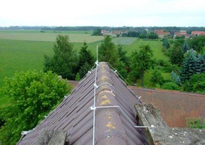 Výškové instalace hromosvodů 07