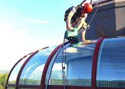 Výškové mytí oken 02