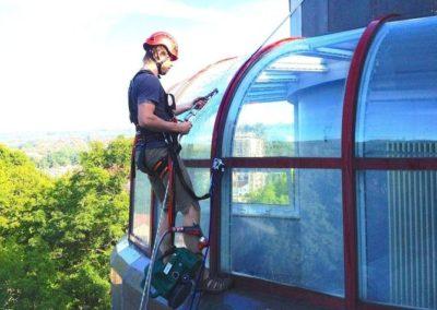 Výškové mytí oken 07