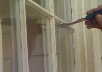 Výškové nátěry oken 07