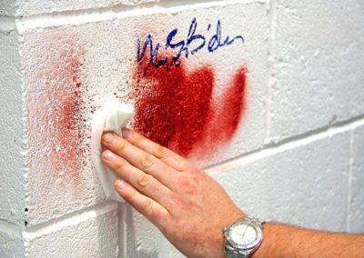Výškové odstranění graffiti 04