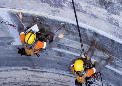 Výškové opravy a údržba komínů 03