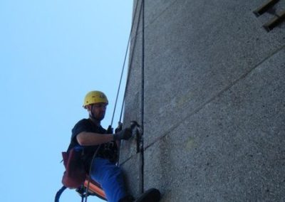 Výškové opravy fasád 03