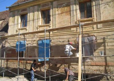 Výškové opravy fasád 04