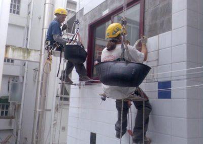 Výškové opravy fasád 05