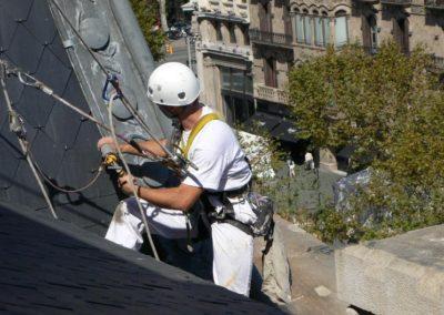 Výškové opravy střech 01