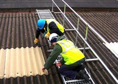 Výškové opravy střech 02