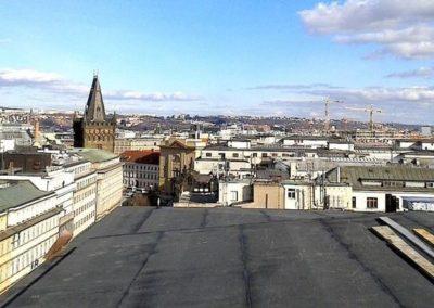 Výškové opravy střech 04