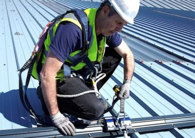 Výškové opravy střech 06
