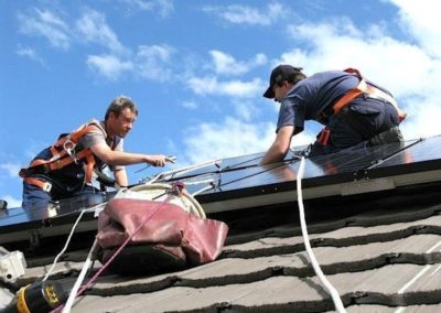 Výškové opravy střech 08